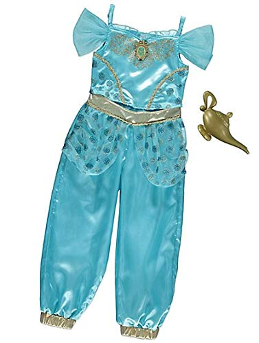 George Disney Princess Jasmine Kids Girls Fancy Dress Outfit Costume (5-6 ()
