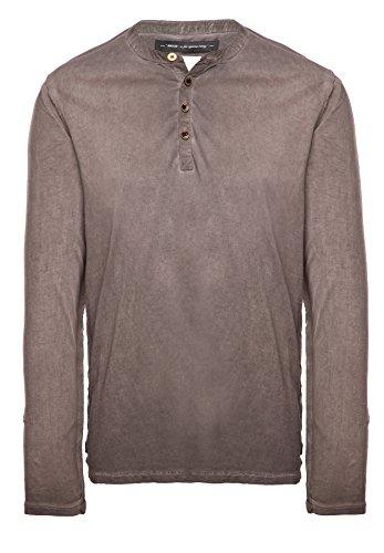 khujo Herren Shirt TISTO 2423SH153_333 olive (333DU-OLIV)