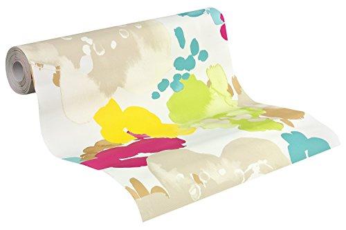 esprit-home-tapete-buenos-aires-mustertapete-floral-signalweiss-beige-turkisblau-hellgrun-zinkgelb-t