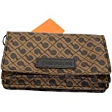 GHERARDINI Portemonnaie für Damen aus weichem Stoff geschlossen mit Klettverschluss GH 0422