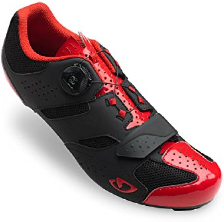 Giro Savix Road, Zapatos de Ciclismo de Carretera para Hombre, Multicolor (Bright Red/Black 000), 41.5 EU