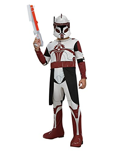 Clone Trooper Commander Kinder Kostüm (Trooper Clone Kinder Kostüme)