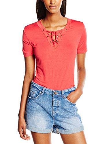 Madonna 74-2923, T-Shirt Donna, Orange (Coral 0711), 48 (Taglia Produttore: XL)