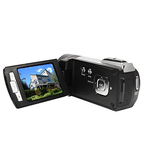 """HG5162 Digitale Videokamera 1080P FHD DV Camcorder / 2,7\"""" TFT LCD-Bildschirm / 270 Grad drehbarer Camcorder für Kinder/Anfänger / ältere Menschen"""