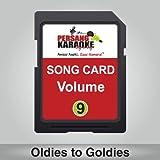 PERSANG KARAOKE Vol-9 Songs Card