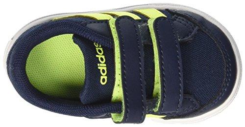 adidas Vs Set Cmf Inf, Sneakers Basses Mixte Enfant Bleu (Conavy/syello/ftwwht)