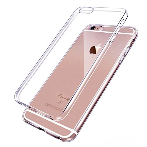 Handy Lux® Ultra dünn Handy Schutz Hülle Cover Clear Case Silikon für Apple iPhone 6 Plus / 6S Plus 5,5