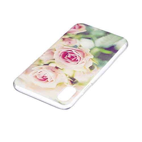 Per iPhone X Cover , YIGA Moda dente di leone ragazza Cristallo Trasparente Cassa Silicone Morbido TPU Case Caso Shell Protettiva Custodia per Apple iPhone X (5,8) HX26