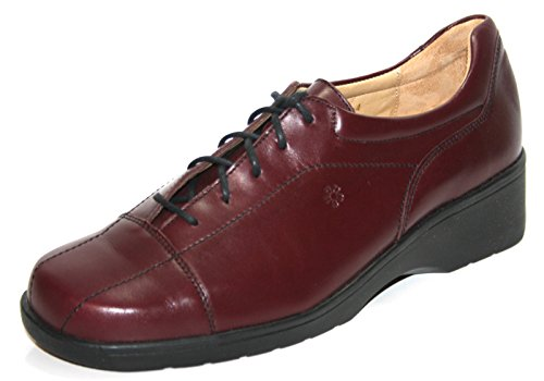 Ganter Ellen-Vario 4-205431 Damen Schnürhalbschuhe Weite G Rot (Bordeaux)