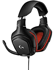 Logitech G331 Gaming Headset with Flip to Mute Mic (Black)