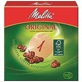 Melitta - Conjunto de filtros redondos de café, 1000 unidades, color marrón
