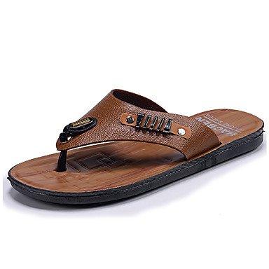 Athletic Shoes Primavera Autunno Coppia Scarpe da uomo Tulle casuale Tallone piano Lace-up Nero / Blu Nero sandali US9.5 / EU42 / UK8.5 / CN43