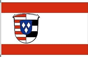 Flagge Fahne Bannerflagge Landkreis Groß-Gerau - 80 x 200cm