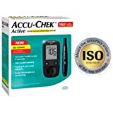 Accu Chek Active Meter with 100 Strips (Multicolor)