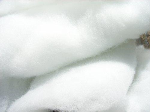 Schneewatte 1 kg, weiß, schwer entflammbar British Standard (EUR 14,90/kg), Dekoschnee, Kunstschnee