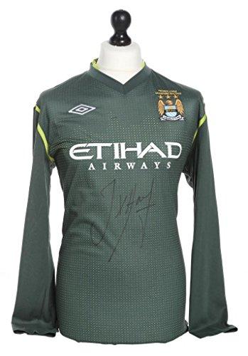 Joe-Hart-Signed-Manchester-City-Goalkeeper-Champions-Shirt-Autograph-Jersey-COA