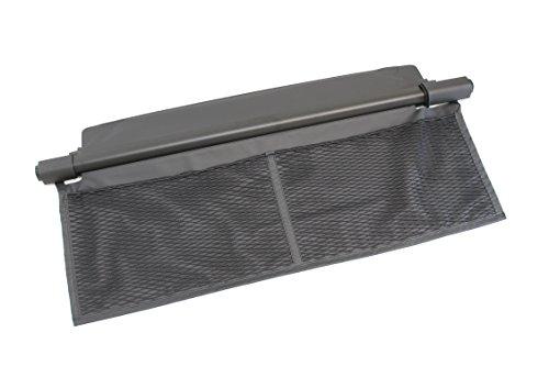 Kofferraumabdeckung Smart fortwo Cabrio 453 schwarz Hutablage Laderaum Sichtschutz Rollo