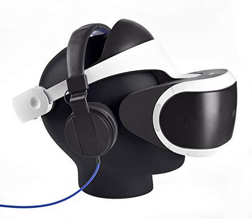Snakebyte Supporto da Tavolo a Forma di Testa , Nero - PlayStation VR