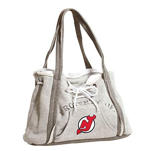 Pro NHL Hoodie Geldbörse, Damen, 550404-DEVL-GREY, New Jersey Devils, Gray Devils Damen-sweatshirts