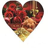 Skylofts Cute 5pc Chocolate I Love You Heart Gift Box Valentine's Love Gift