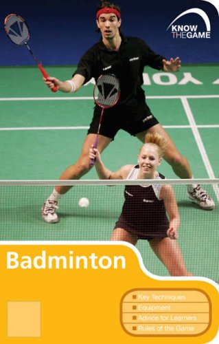 Price comparison product image Badminton (Know the Game)
