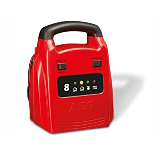 AEG 97003 Automatik-Ladegerät AG 1208, 8 Ampere für 12 V Batterien, CE, IP 20