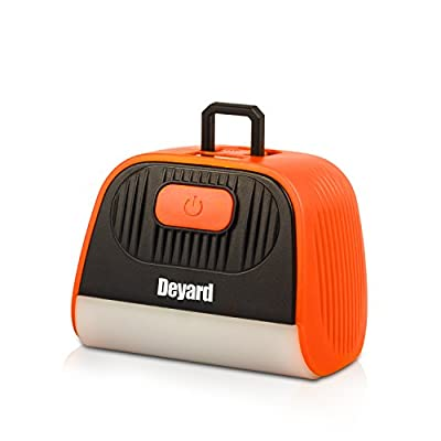 Deyard 2 in 1 LED Portable Zelt Licht USB Wiederaufladbare Camping Licht mit Power Bank Ultra Bright Camping Lampe für Outdoor Camping Notfall Wandern Angeln Stromausfall von Deyard Tech auf Outdoor Shop