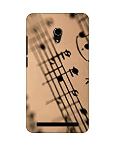 Mobifry Back case cover for Asus Zenfone 6 A600CG Mobile (Printed design)