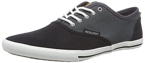 JACK & JONES JJSPIDER CANVAS BLOCKING, Herren Sneakers, Grau (Asphalt), 44 EU
