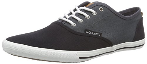 JACK & JONES Jjspider Canvas Blocking Asphalt - zapatilla