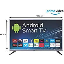 eAirtec 125 cm (50 Inches) Full HD Smart LED TV 50 Smart (Grey)