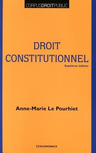 Droit Constitutionnel, 7e ed. (le)