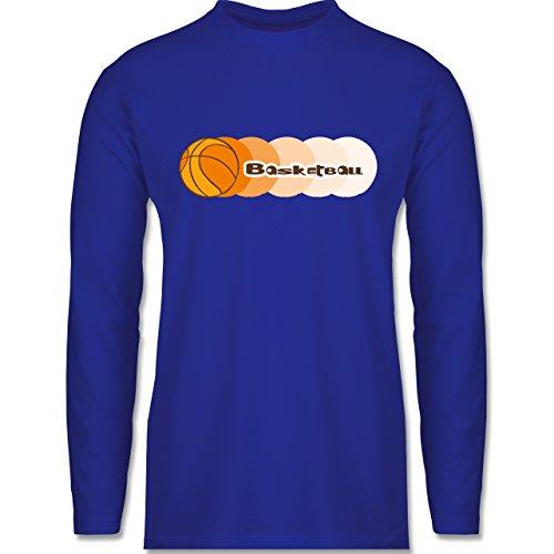 Shirtracer Basketball - Basketball - Herren Langarmshirt Royalblau