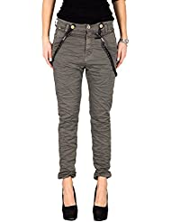 PLEASE - P59 jeans femme pantalons baggy wrinkled