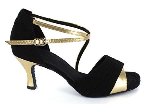 TDA , Salle de bal femme 7.5cm Gold Black