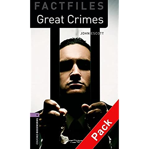 Oxford Bookworms Library Factfiles: Level 4:: Great Crimes audio CD pack
