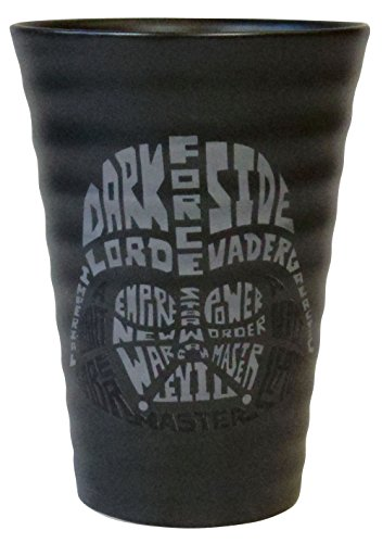 Vaso de Tipografía de Star Wars Darth Vader SAN2484-3
