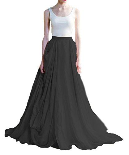intage Hochzeitskleider Boho Rustikale Brautkleider(Weisse+Schwarz, 52) (Schwarze Und Weiße Tischdekoration Ideen)
