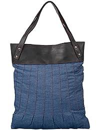 Lifaffa Blue Reusable Shopper Bag