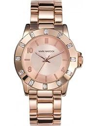 Mark Maddox MM3002-95 - Reloj de cuarzo para mujer, correa de otros materiales color oro rosa