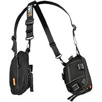 CivilianLab Covert Lt Starter Kit: Device/Universal Packs/Basic Harness - Black