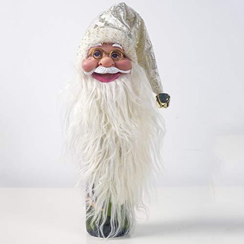 anpingyoupu Weinflaschenhülle für Weihnachten, Abendessen, Party, Dekoration, Geschenk H02