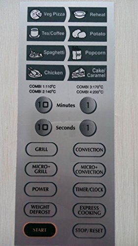 Microwave Oven Membrane Keypad : ABLE : Model No : 20SC2