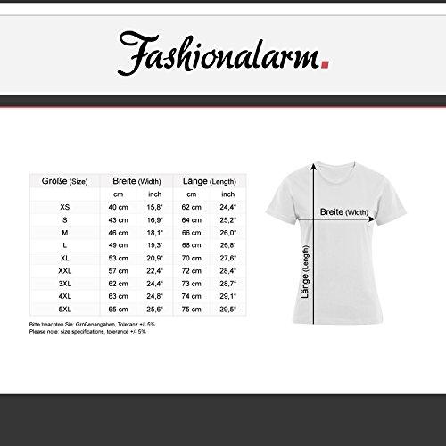 Fashionalarm Damen T-Shirt - Ich habe einen hübschen Enkel | Fun Shirt mit Spruch als Geburtstag Geschenk Idee Oma Großmutter Enkelsohn Weiß