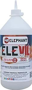 1 KG | Colla vinilica per Legno D3 ELEVIL2252 - Super Collante professionale