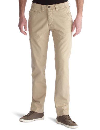 Wrangler Chino–Herren Jeans Beige (Sandstorm)