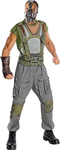 Rubie's The Dark Knight Rises Bane Deluxe Kostüm Lizenzware grün-grau-rot L