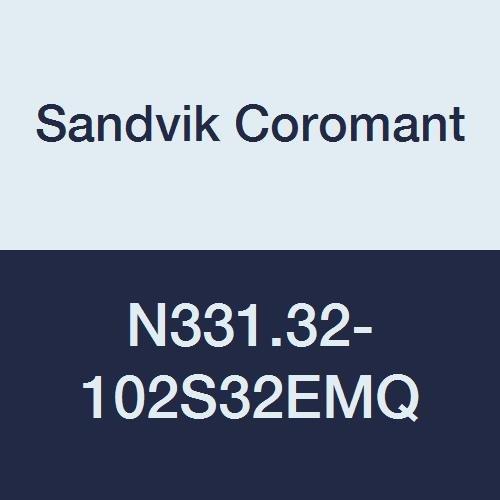 Sandvik Coromant n331.32–102s32emq coromill 331Verstellbare Full Side und Gesicht Disc Fräser