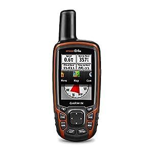 Garmin GPSMAP 64s Navigationshandgerät, barometrischer Höhenmesser, GPS und GLONASS Kompatibilität, Live Tracking, Smart Notification, 2,6 Zoll (6,6 cm) Farbdisplay, 010-01199-10