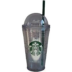 Starbucks Tumbler Taza Classic Swirl Top Cold to go Vaso de 16oz/473ml